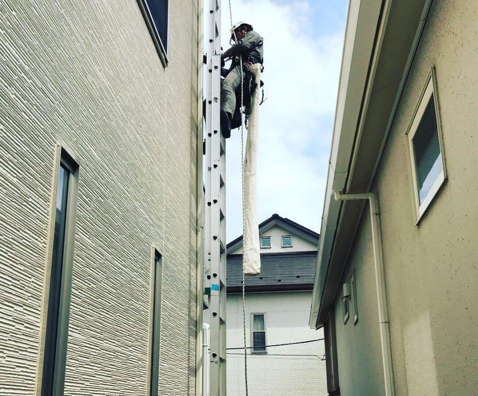 3階建てエアコン取り付け